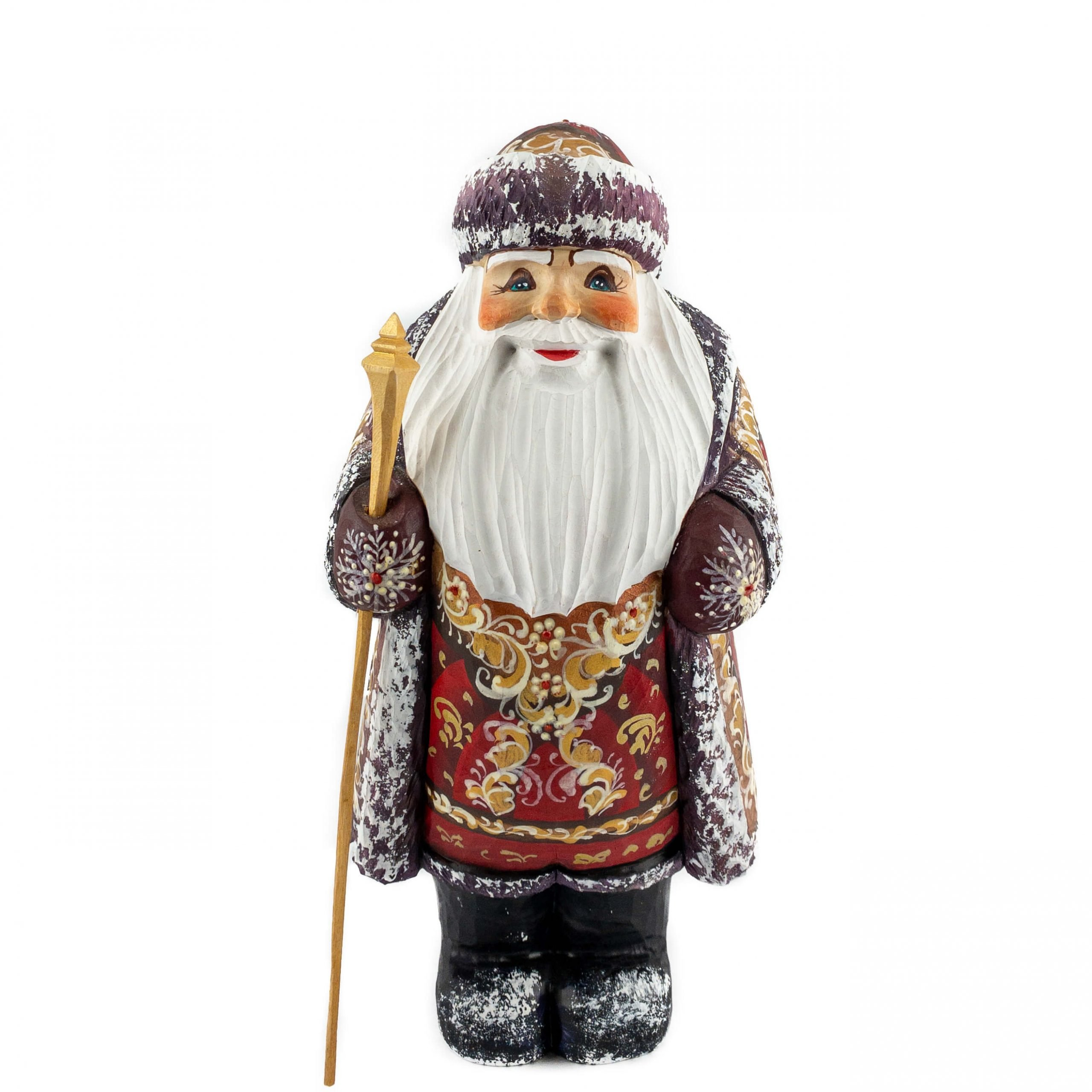 medium category wooden santa figuge